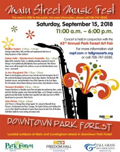 Park Forest Main Street Music Fest