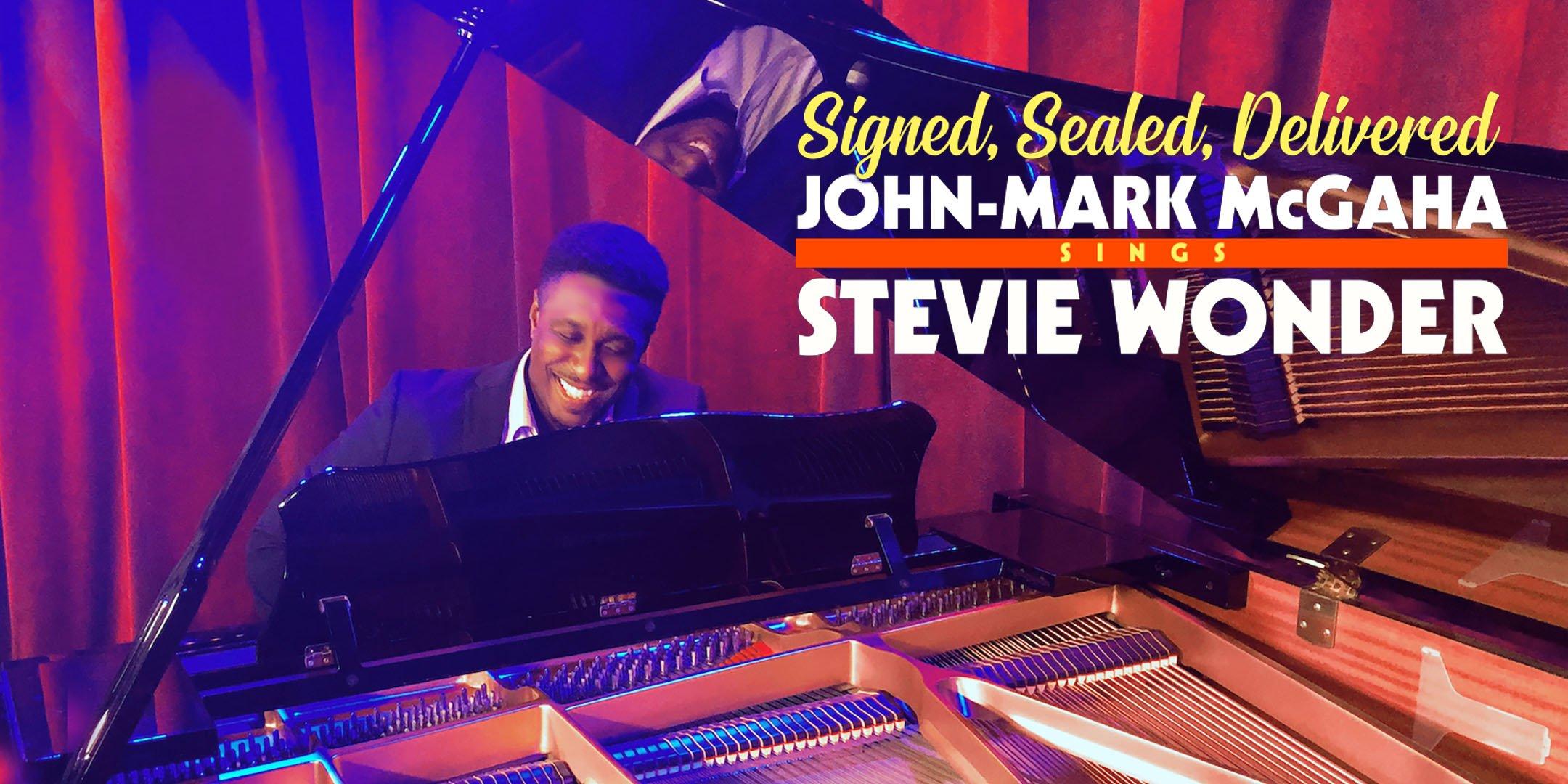 John-Mark McGaha sings Stevie Wonder